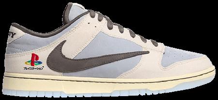 Cheap Nike Dunk Low Travis Scott PlayStation