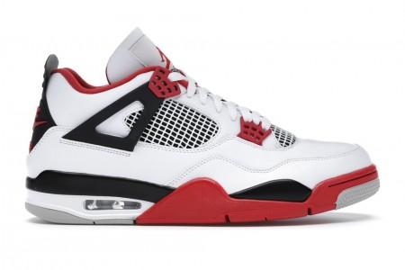 Cheap Air Jordan 4 Retro Fire Red (2020)