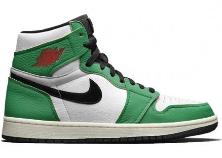 Cheap Air Jordan 1 Retro High Lucky Green