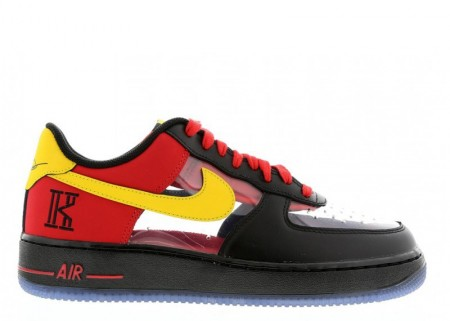 """Cheap Nike Air Force 1 CMFT Signature QS """"Kyrie Irving"""" Universtiy Red for Sale"""