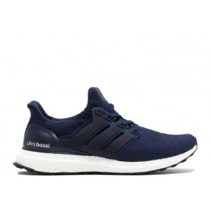 Cheap Adidas Ultra Boost 3.0 Navy White Shoes Online