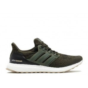 Cheap Adidas Ultra Boost 3.0 Night Cargo Green Shoes Online