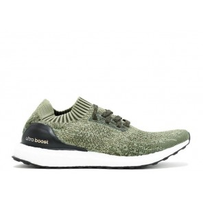 Cheap Adidas Ultra Boost Uncaged Olive Black Whtie Shoes Online