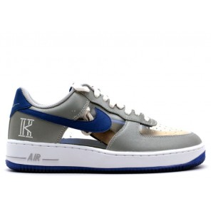 """Cheap Nike Air FOrce 1 CMFT Signature QS """"Kyrie Irving"""" Game Royal for Sale"""