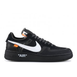 "The 10: Nike Air Force 1 Low ""Off White"" Black online"