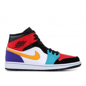 "Cheap AIR JORDAN 1 MID ""MULTI-COLOR"""