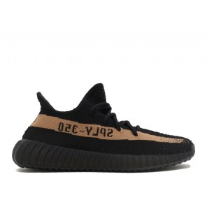 Adidas Yeezy Boost 350 V2 Copper SPLY-350 Black Copper Black Shoes