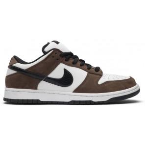 Cheap Nike SB Dunk Low White Black Trail End Brown
