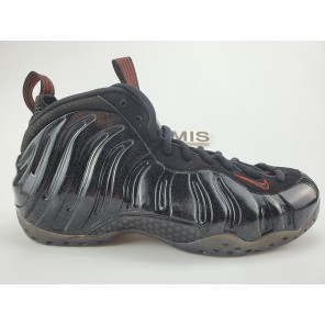 Cheap NIKE AIR FOAMPOSITE ONE BLACK GOLD-RED