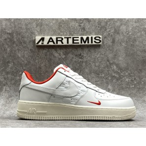 Cheap KITH X AIR FORCE 1 LOW WHITE RED