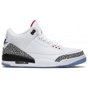Cheap Air Jordan 3 Retro Free Throw Line White Cement