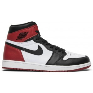 Cheap AIR JORDAN 1 RETRO BLACK TOE (2016)