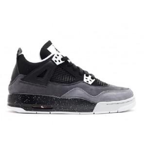 Cheap Air Jordan 4 Retro Gs Fear Pack Black White Cool Grey Pro Platnm Online