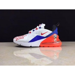 Cheap Air Max 270 / Fifa World Cup Russia 2018 Red Blue Online