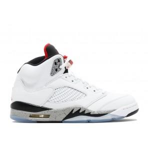 Cheap Air Jordan 5 Retro White Cement Online