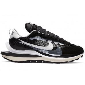 Cheap Nike Vaporwaffle sacai Black White