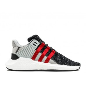Cheap Adidas EQT Support 93/17 Black Red Shoes Online