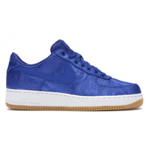 CHEAP AIR FORCE 1 LOW CLOT BLUE SILK